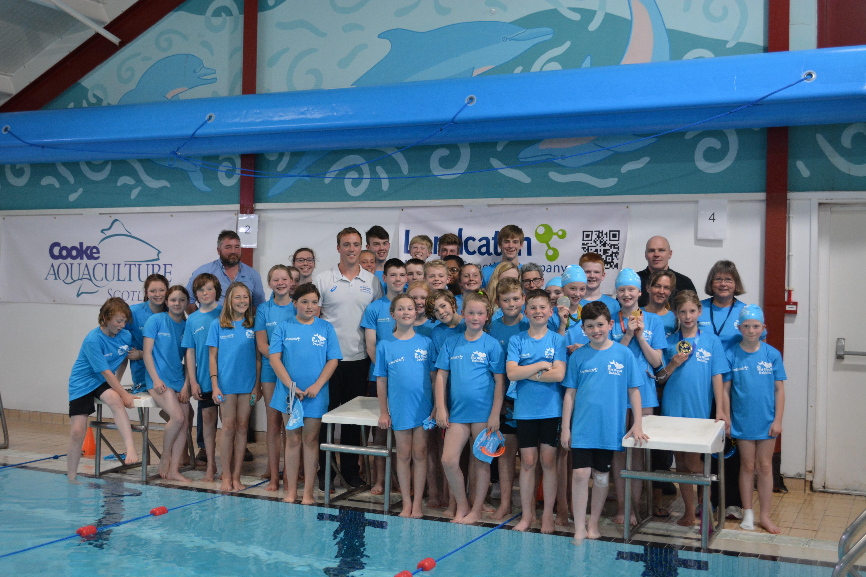 Robbie At The Lochgilphead Swimming Pool Cooke Aquaculture Scotland